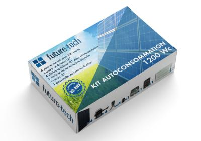 Kit solaire complet 1200W autoconsommation
